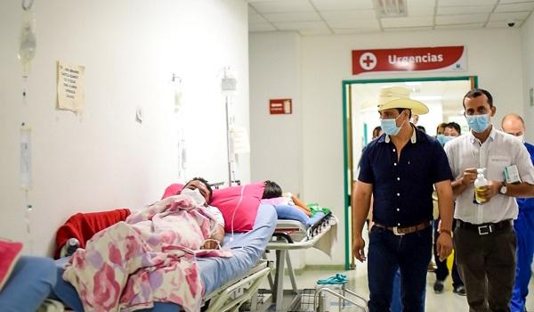 Gobernador de Casanare asegura que situación por virus AH1N1 está controlada.