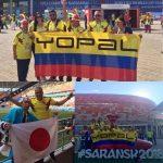 #EnAudio ¿Cuál es el plan de rumba y fútbol de estos tres casanareños en Rusia después de la derrota de Colombia ante Japón?