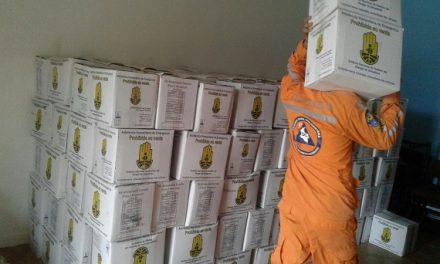 Gobernación envió ayudas humanitarias para damnificados del invierno en Orocué y Maní.