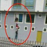 En video, el fugaz escape de un trío en reconocido motel de Bogotá que se hizo viral