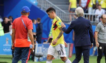 Colombia conocerá este sábado el parte médico de la lesión de James
