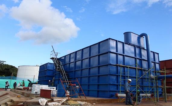 Empieza ensamble del sistema integral de abastecimiento de agua 24 horas en Yopal.