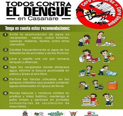 Presentado Plan de Contingencia para prevenir y atender casos de dengue en Casanare.