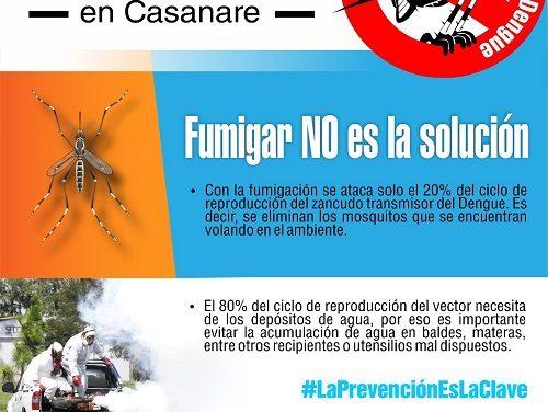 Se disparó el dengue en Casanare en un 211%