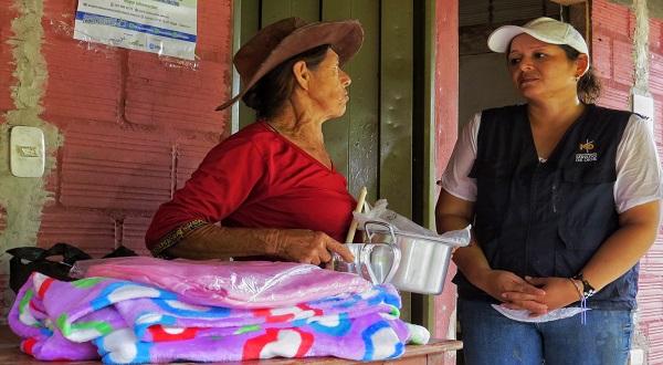 Voluntarios Equión donaron kits de cocina y habitación a familias de Yopal y Nunchía.