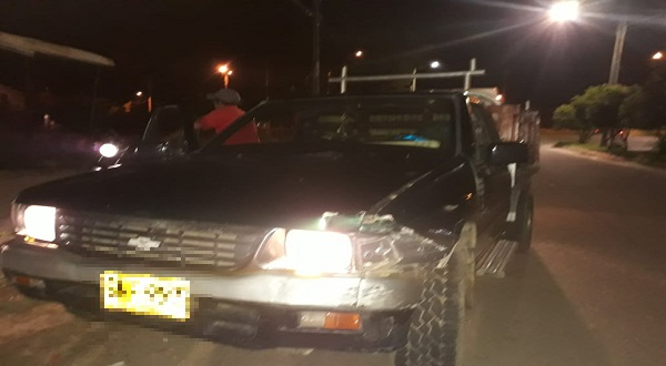 Conductor involucrado en accidente de tránsito en Yopal intentó fugarse y fue detenido por ciudadanos.