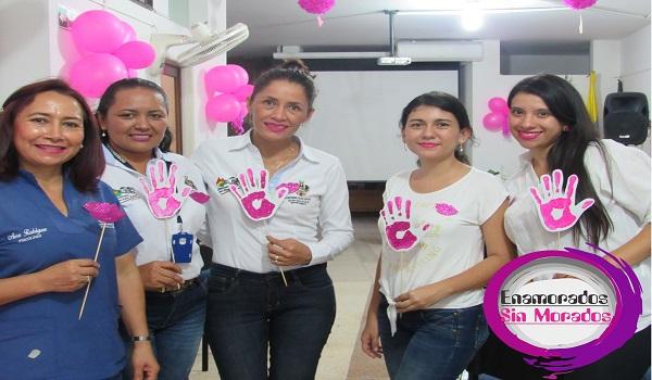 """Con la campaña """"Enamorados Sin Morados"""", tratan de disminuir violencia de género en Casanare."""