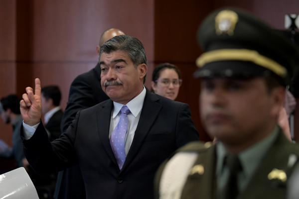 """""""Quiero pedir perdón a las víctimas por el daño causado"""": general Torres Escalante."""