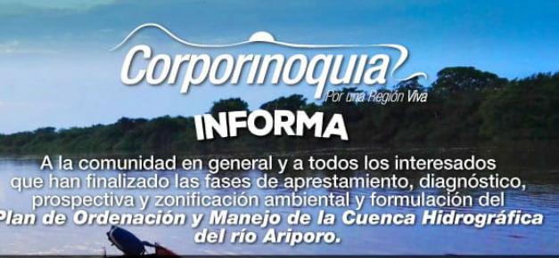 #EnAudio Se anunció finalización de la etapa de zonificación del POMCA Río Ariporo y los ambientalistas se encuentran preocupados, dicen que no hay compromiso desde la administración de Paz de Ariporo