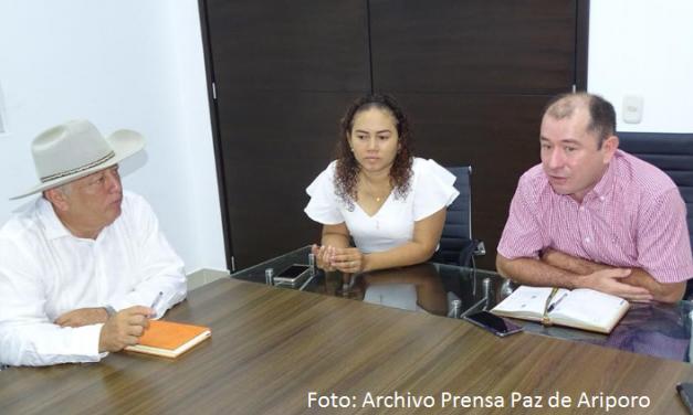 #EnAudio Arles Roselly Benitez es el nuevo Secretario de Gobierno de Paz de Ariporo, la seguridad es su principal reto