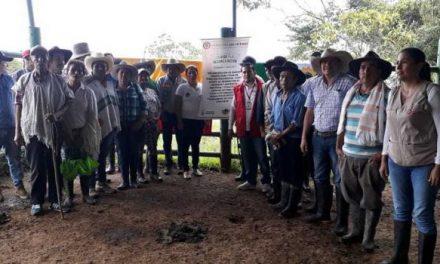 Entrega de proyectos productivos en Recetor, benefició a 85 familias sobrevivientes del conflicto armado